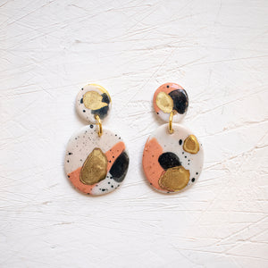 PORCELAIN EARRINGS #9