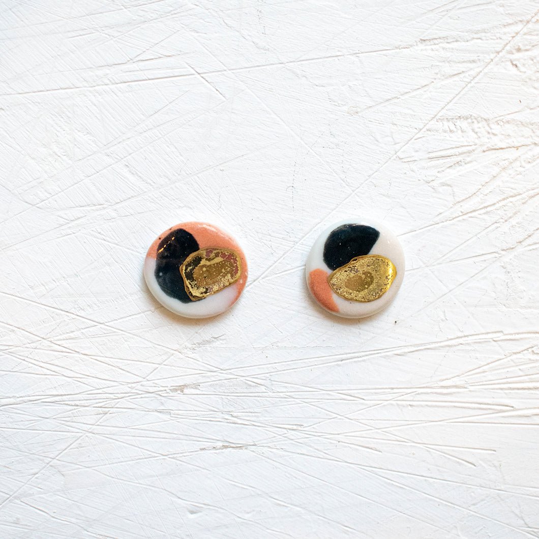 PORCELAIN EARRINGS #21