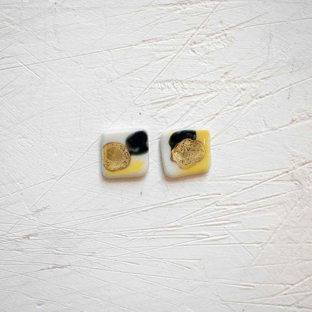 PORCELAIN EARRINGS #30