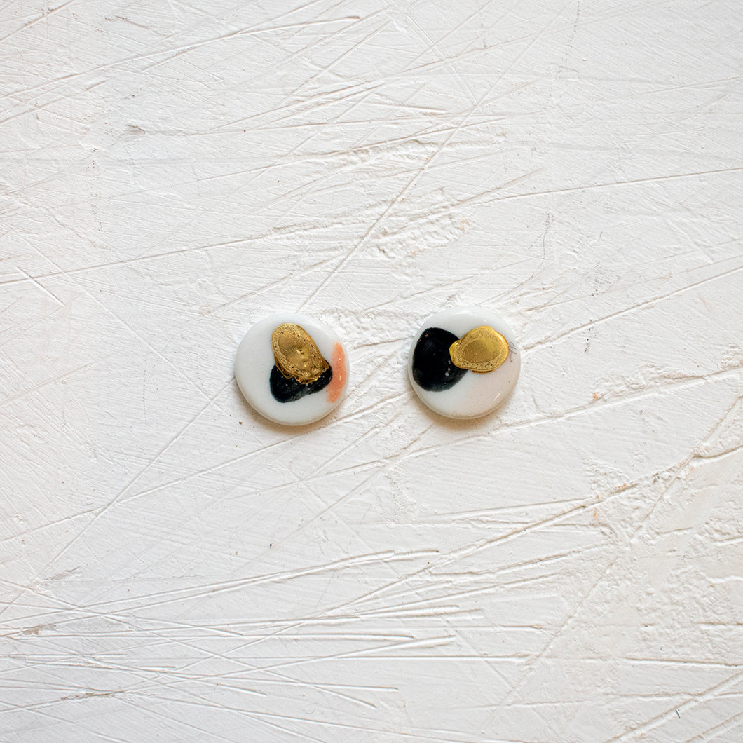 PORCELAIN EARRINGS #33