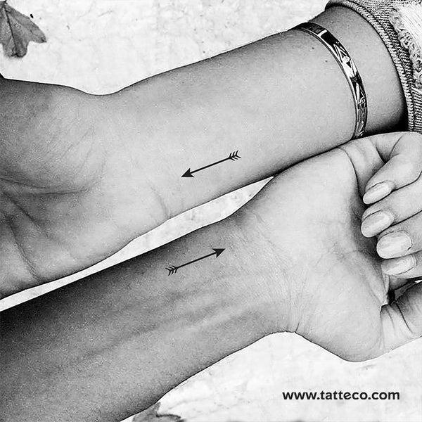 Arrow Temporary Tattoo - Set of 3