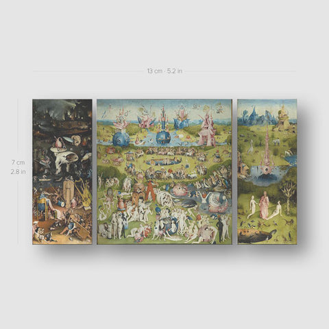 Hieronymus Bosch's Garden of Earthly Delights Temporary Tattoo - Set of 3