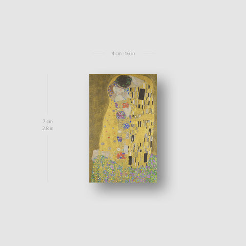 Klimt's The Kiss Temporary Tattoo - Set of 3
