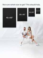iFul Canvas Art Sizes - iFul
