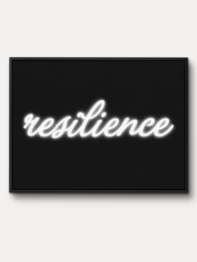 Resilience Motivational Canvas Wall Art - iFul