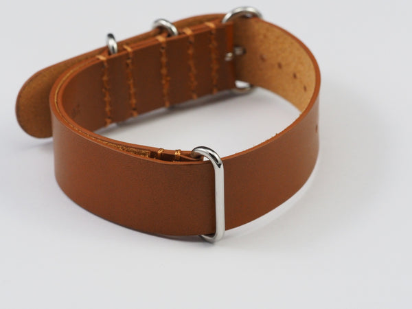 Leather NATO strap - ALPHA EUROPE