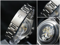 Oyster stainless steel bracelet 20mm Alpha logo (for explorer) - ALPHA EUROPE