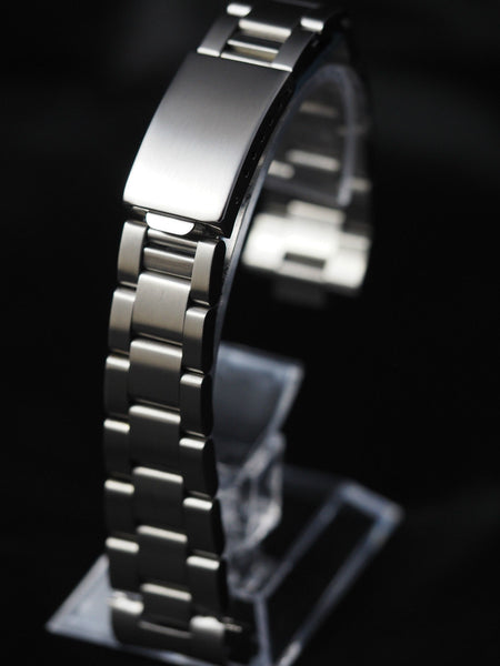 Oyster stainless steel bracelet 20mm (for chronograph) - ALPHA EUROPE