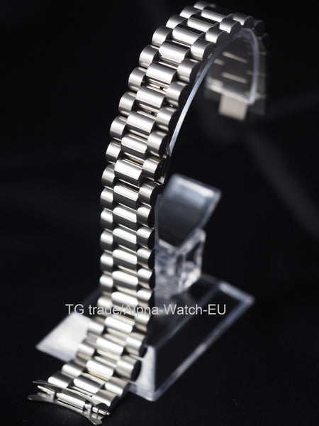 President style stainless steel bracelet 20mm - ALPHA EUROPE