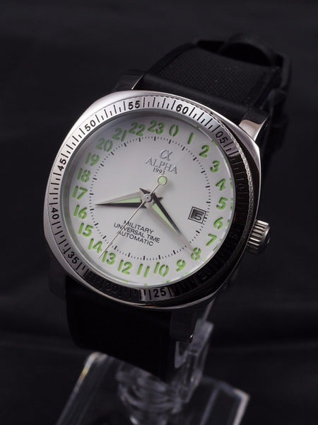 Alpha Military 24 hours automatic watch - ALPHA EUROPE