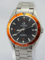 Alpha Planet Ocean automatic watch - ALPHA EUROPE