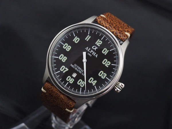 Alpha Sundial automatic watch - ALPHA EUROPE