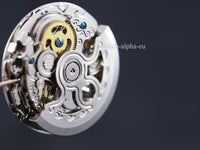 2198 skeleton automatic watch movement