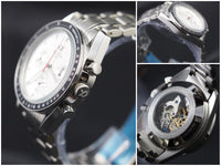 Alpha mechanical chronograph watch
