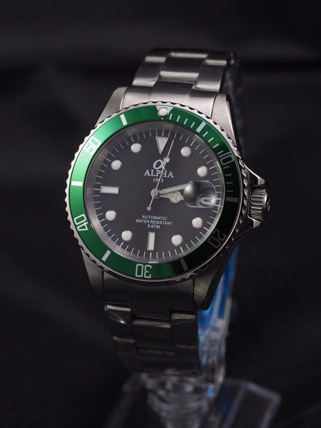 Alpha Submariner automatic watch - ALPHA EUROPE
