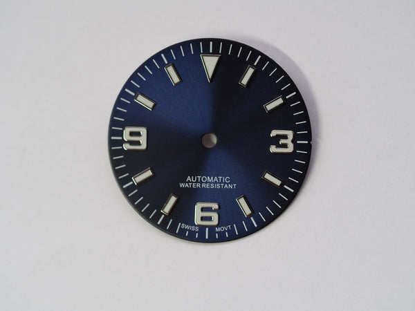 Explorer dial for ETA 2824 movement 29.3mm