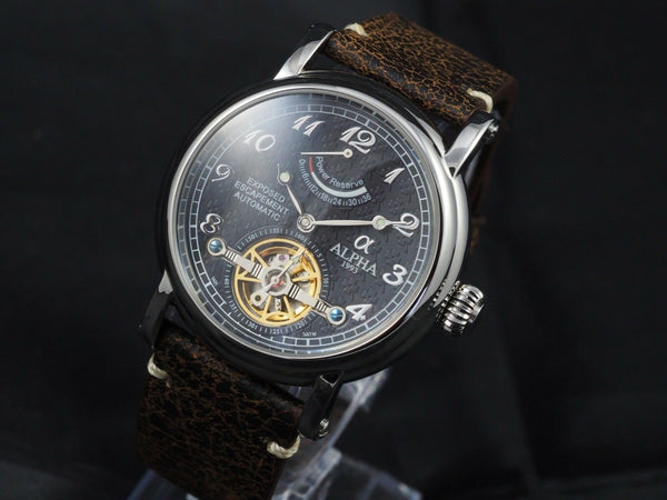 Alpha Vintage Power Reserve watch