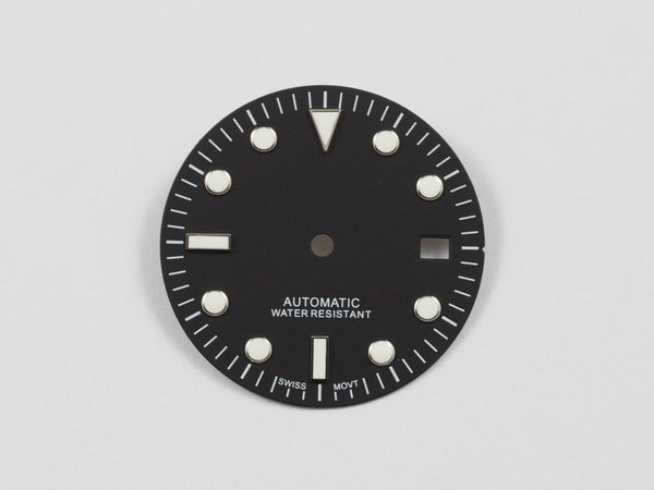 Submariner dial for ETA 2824 movement 29.5mm - ALPHA EUROPE