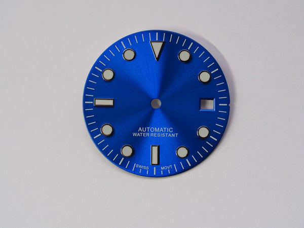Submariner dial for ETA 2824 movement 29.5mm