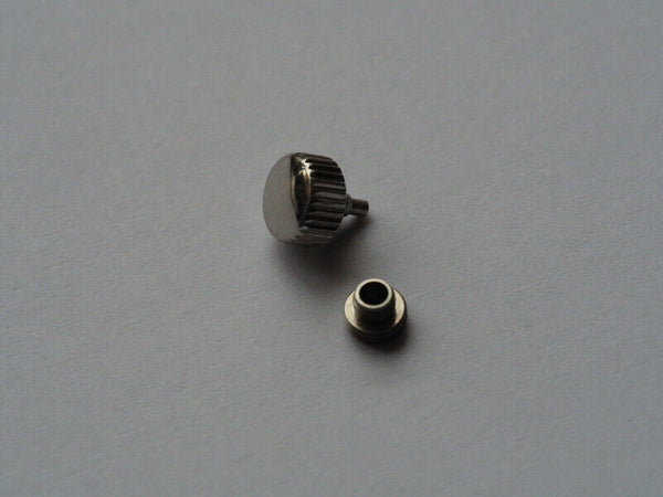 Replacement crown and tube for a watch