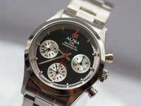 Alpha mechanical chronograph watch 1965's