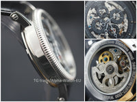 Alpha skeleton automatic watch
