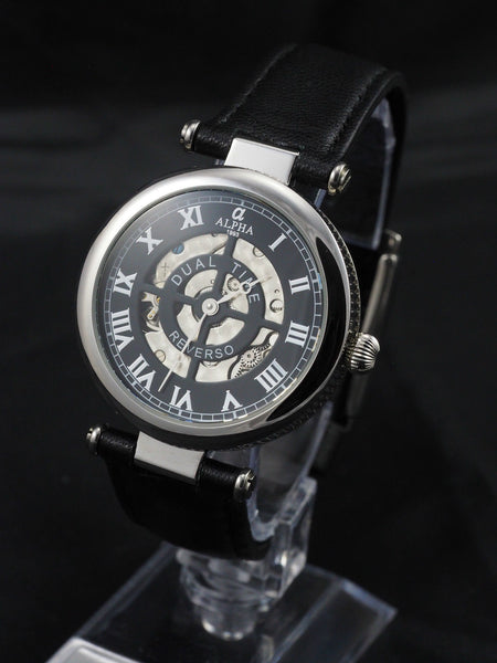 Alpha Traveler automatic 2 dial watch