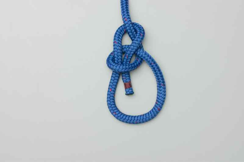 Tying The Boater's Bowline Knot
