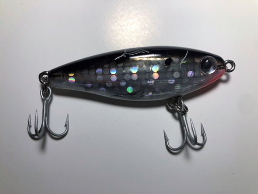 MirrOdine 17MR BLK Speckled Suspending Twitchbait (Custom) - Eastern Outfitters