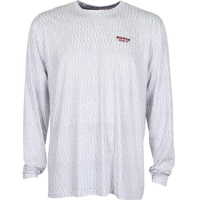 Marsh Wear Silver Skin Performance Shirt-White - Eastern Outfitters