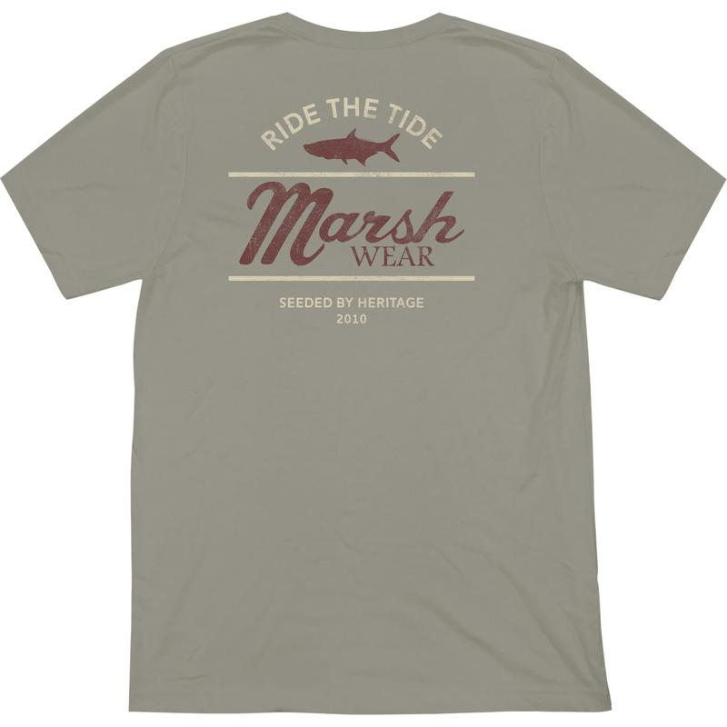Marsh Wear Clothing Chart T-Shirt (Stone) - Eastern Outfitters