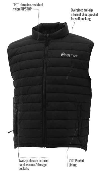 Frogg Toggs Co-Pilot Insulated Puff Vest - Eastern Outfitters