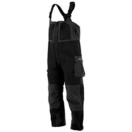 Frogg Toggs Pilot II Guide Bib w/ Co-Pilot Liner - Black/Charcoal Gray - Eastern Outfitters