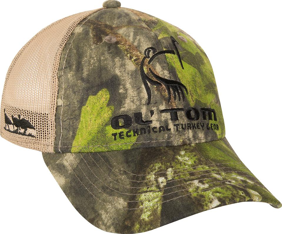 Ol' Tom Camo Mesh Back Logo Cap - Eastern Outfitters