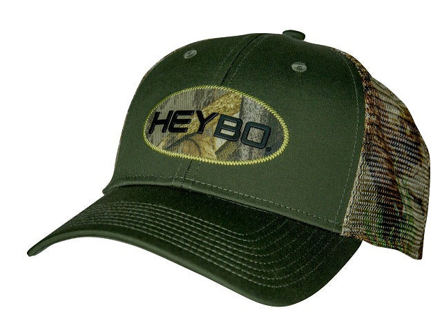 Heybo Oval Patch Trucker