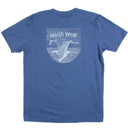Marsh Wear Clothing Shore Bird T-Shirt (Navy)- Eastern Outfitters