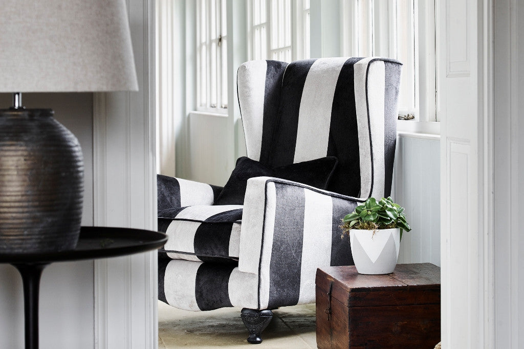 Marlene wing chair