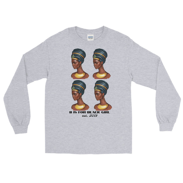 New Neferetiti drip - Long Sleeve T