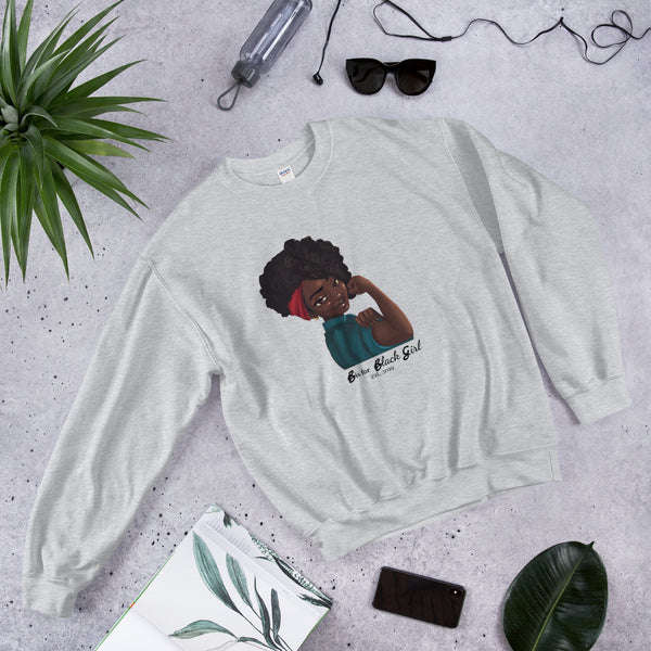 Rosie flex - B is for Black Girl Women's Crew