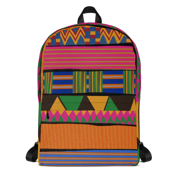 OG Kente backpack