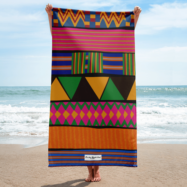 K is for Kente Towel