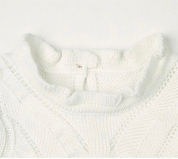 White and Bright Knit Jumper