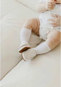 Baby Loafers -White