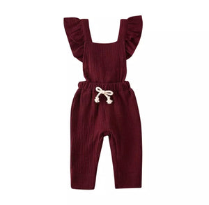 Savy Flare Jumper-Wine