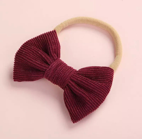 Smalls Corduroy Bows