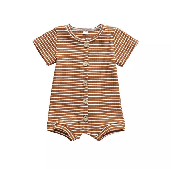 Killin' Me Smalls Ribbed Jumper -Brown&White