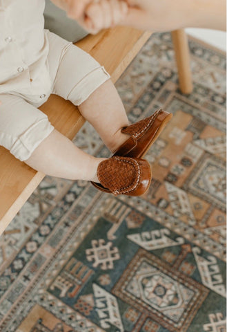 Baby Loafers -Brown