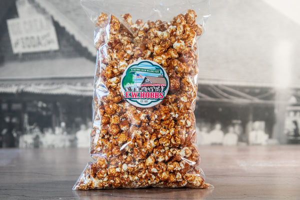 Molasses Caramel Popcorn Brittle