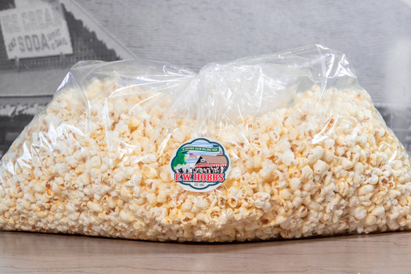 CURB-SIDE PICKUP OF BATCHES OF BUTTERED POPCORN