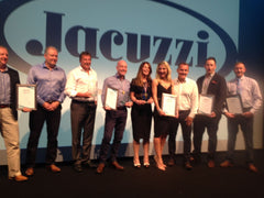 Jacuzzi UK Dealer Of The Year – 3rd Year Running, 2013